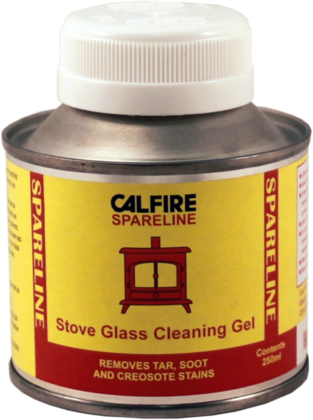 Stove Glass Brush-On Cleaning Gel 250ml