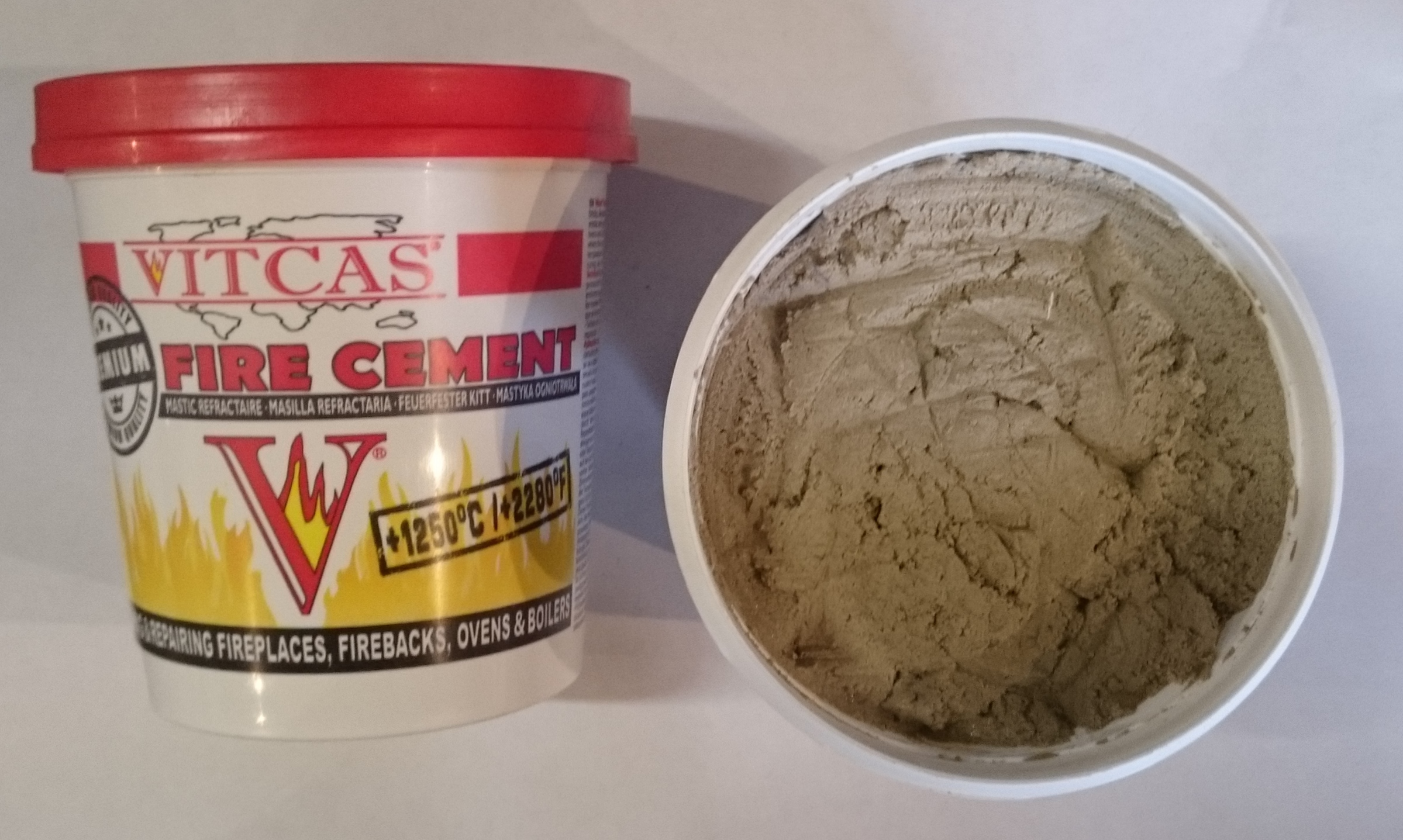 Fire Cement Buff/Grey